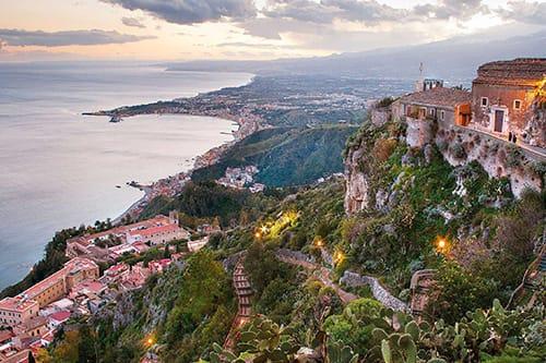 Castelmola - classic taormina tour castelmola tour sicily shore excursion