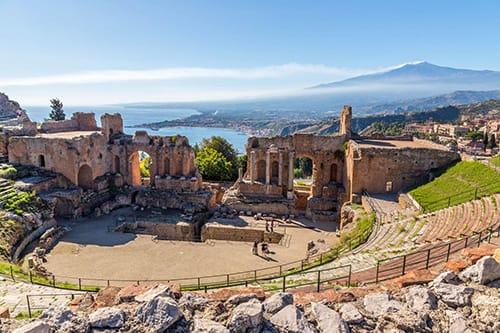 taormina - classic taormina tour castelmola tour sicily shore excursion