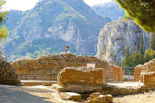 castelmola - godfather tour sicily taormina tour sicily - shore excursion