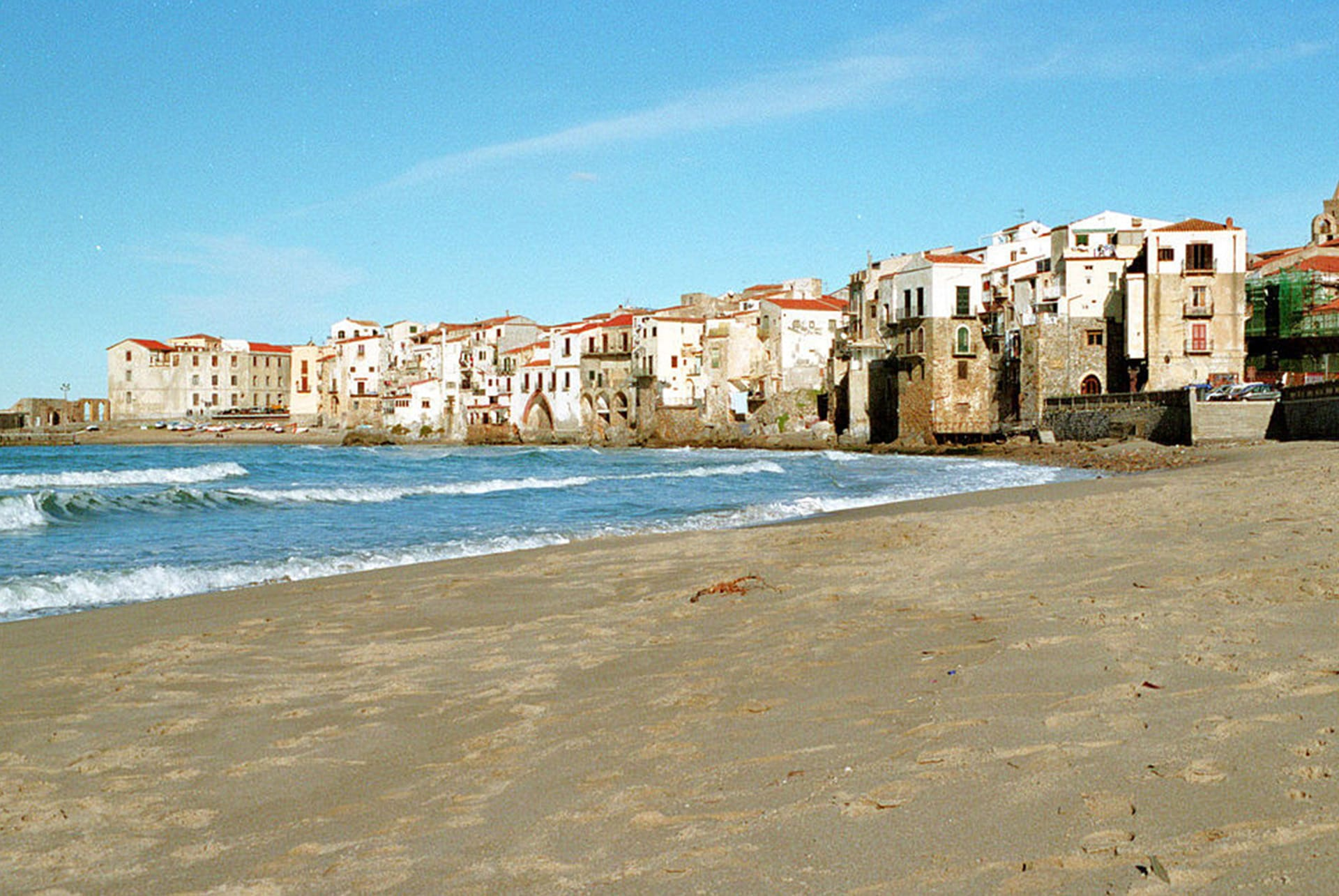 cefalu beach - excursions sicily