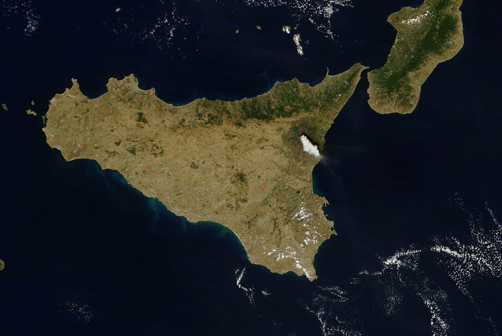 Where is Mount Etna - Excursions Sicily