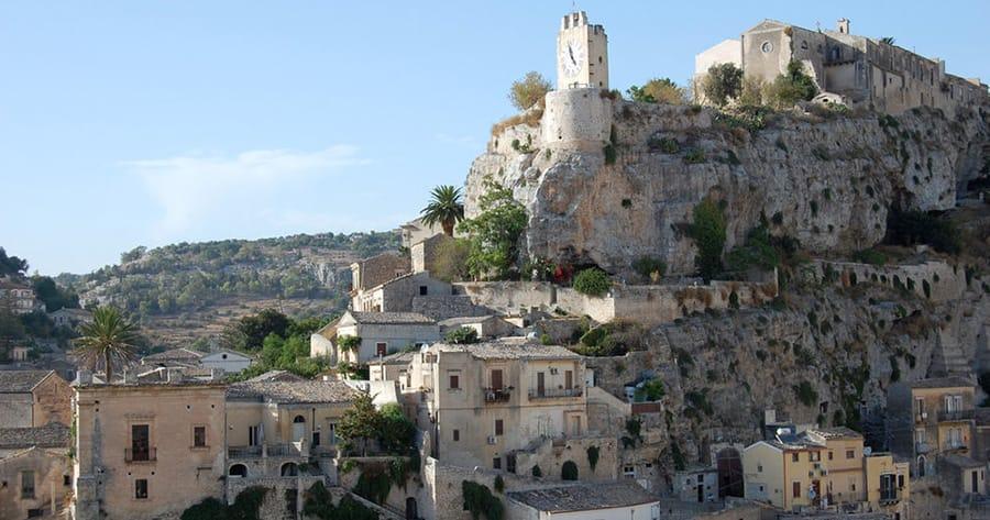 where is montalbano filmed